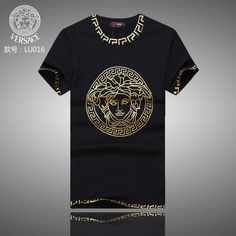 Replica Versace T-Shirts for men  232249 express shipping to Spain ... 3f38561387625