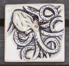 Hey, I found this really awesome Etsy listing at https://www.etsy.com/listing/189766658/hand-made-octopus-tile