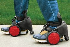 These electric shoes: | 19 Absolutely Necessary Products For Lazy People