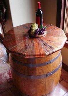 Perfect Copper Wine Barrel Table Top Copper Coffee Table, Copper Top Table, Coffee  Tables,