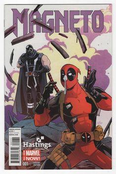 Magneto #1 Guri Hiru Hastings Variant Cover (2014)