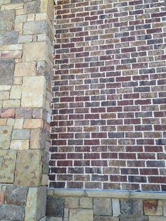 Harbor shoals brick  Ivory mortar