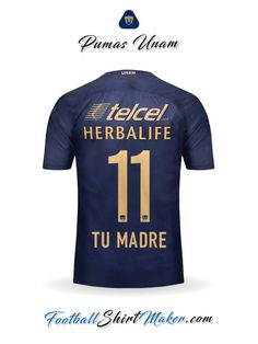 Camiseta Pumas UNAM 2016/2017 Visita Tu madre 11