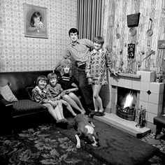martin parr. I spent first 13yrs of my life in a house like this.