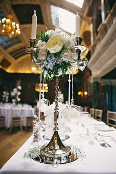 Ronald Joyce for a Peach Wedding at Thornton Manor. Wedding decor.  Pic by Jess Yarwood Photography.  Read more: http://bridesupnorth.com/2015/10/12/simply-chic-ronald-joyce-for-a-blue-peach-and-cream-themed-wedding-at-thornton-manor-hollie-martin/