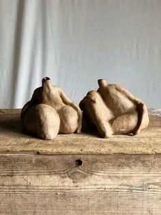 Ceramic Mask, Ceramic Clay, Ceramic Pottery, Paper Mache Sculpture, Pottery Sculpture, Sculpture Art, Geometric Sculpture, Advanced Ceramics, Ceramic Figures