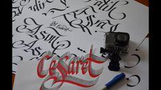 aksiyon kamerası ile kaligrafi çekimi -2 Abdurrahman Cesaret