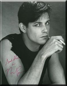 "~Michael Pare as a Greaser in ""Eddie and the Cruisers""~ Eddie And The Cruisers, Gorgeous Men, Beautiful People, Beautiful Shoes, Loving You Movie, Actress Eva Green, Interview, In And Out Movie, Teddy Boys"