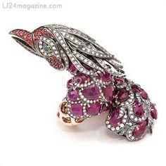 Sculptured Phoenix Ring  from Zorab Atelier De Creation-USA Gallery