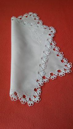 Crochet Snowflake Pattern, Crochet Lace Edging, Crochet Fabric, Crochet Snowflakes, Crochet Borders, Crochet Flower Patterns, Crochet Home, Irish Crochet, Baby Knitting Patterns