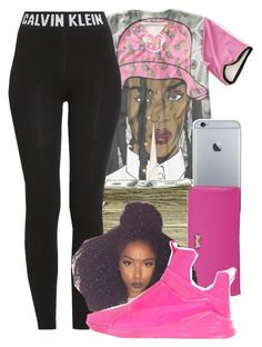 """""""Untitled #968"""" by kaja-bear ❤ liked on Polyvore featuring SEN, Calvin Klein, Zodaca and Puma"""