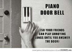 Piano Door Bell