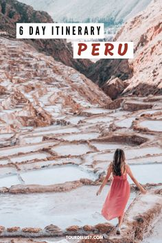 Is Peru on your bucket list? Here's the perfect 6 day Peru itinerary with everything you need to know, do and see in Peru! Peru Travel, Solo Travel, Wanderlust Travel, Machu Picchu Travel, Machu Picchu Hotel, Machu Picchu Tours, Costa Rica, Chile, Titicaca