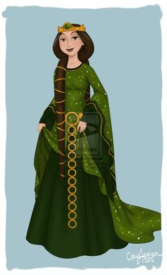 Queen+Elinor+by+Cor104.deviantart.com+on+@deviantART