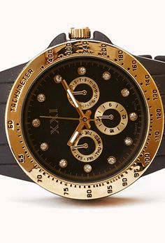 84c73e0430a Borrowed-From-the-Boys Rhinestone Watch