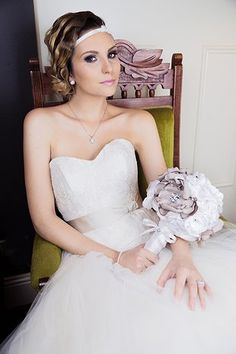 Ashlee Lauren Designs, wedding accessories and brooch bouquets Brooch Bouquets, Bridal Crown, Wedding Accessories, Headpiece, One Shoulder Wedding Dress, Trends, Wedding Dresses, Collection, Design