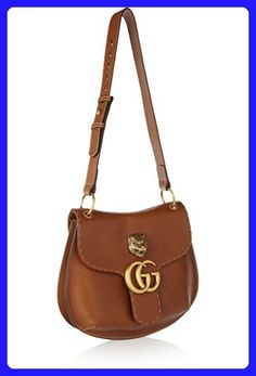 1a96e5fe1c1 GUCCI GG MARMONT LEATHER SHOULDER BAG Brown Tiger Authentic New - Crossbody  bags ( Amazon Partner-Link)