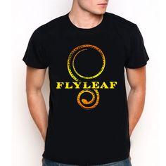 Flyleaf Logo Custom Black T-Shirt Tee All Size