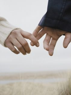 Holding hands, I love how you always reach out to hold my Hand