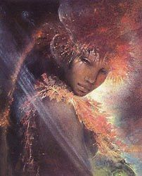 Susan Seddon Boulet I need to find out the title to this one; fascinating!