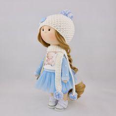 Collezione tessile-bambola bambola-tessuto di FourDolls su Etsy