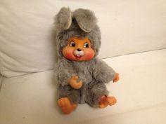 Bunny rabbit Monchhichi Monchichi blended clone very cute! Bunny Rabbit, Ebay, Cute, Friends, Amigos, Kawaii, Boyfriends
