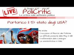 (78) PORTORICO sarà il 51° stato degli STATI UNITI D'AMERICA? (e altre News) - YouTube