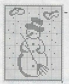 Filet Crochet Charts, Crochet Motifs, Crochet Diagram, Knitting Charts, Thread Crochet, Crochet Doilies, Knitting Patterns, Crochet Patterns, Cross Stitching