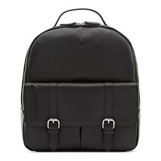 Backpack Winter 2017, Fall Winter, Shops, Leather Backpack, Backpacks, Black And White, Bags, Collection, Fashion