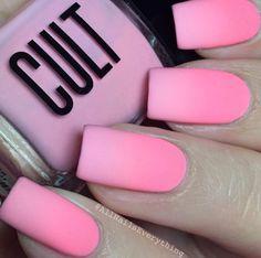 OMG! I adore this. Mate Colors Nails.