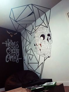 Tape ART - Renove as Paredes sem Gastar