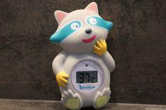 BADABULLE Thermomètre de Bain Raton Laveur