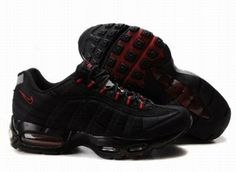 new styles 92cf0 30689 Find Womens Nike Air Max 95 Black Red Lastest online or in Pumafenty. Shop  Top Brands and the latest styles Womens Nike Air Max 95 Black Red Lastest  of at ...