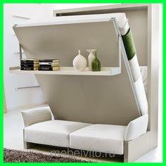 """Шкаф-диван-кровать, трансформер """"Archi"""", цена от 79200 руб., купить в Москве — Tiu.ru (ID#82206161)"""