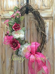 Simply spring and summer Find this and more Sassy Doors on Facebook