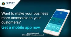 Ekavat Limited is one of the renowned mobile application development company in UK. We develop mobile applications to enable your business to gain edge over competitors. Android Application Development, Mobile App Development Companies, Send Text Message, Text Messages, Mobile Applications, Android Apps, Gain, Website, Business