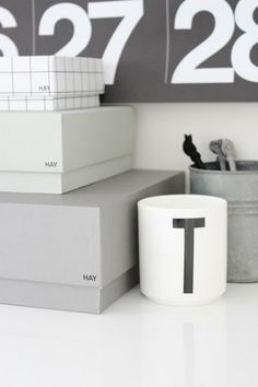 Design letters cup available at www.little-nordic.com