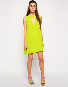 R3: ASOS: Love Shift Dress with Cut Out