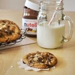 sweetest kitchen » Blog Archive » Nutella-Stuffed Browned Butter & Sea Salt Chocolate Chunk Cookies