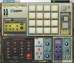Propellerhead - Reason - Kong Drum Designer
