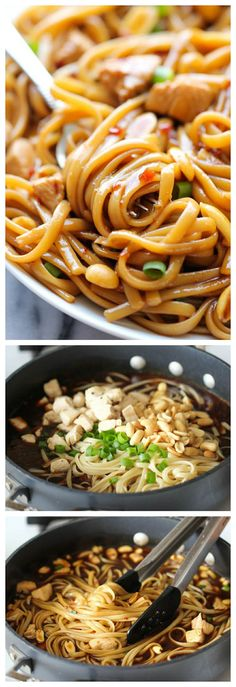 CPK's Kung Pao Spaghetti - A copycat recipe that you can make at home in less than 20 min. And the homemade version tastes 10000x better!
