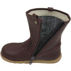 Splash Leather Boots Nutmeg