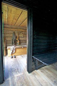 Isabelle made a sauna - Dos Family Swedish Sauna, Finnish Sauna, Sauna For Sale, Portable Sauna, Small Buildings, Saunas, Homesteading, Sweet Home, Spa