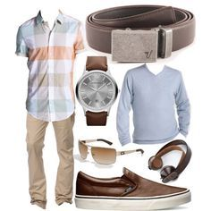 Iron Mission Belt in Brown by kristinmadsen on Polyvore. #fathersday #belts #mensfashion