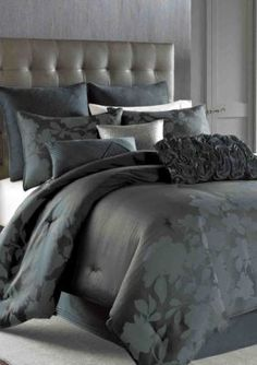 nicole miller midnight floral bedding collection online only