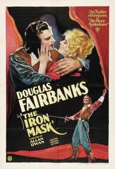 The Iron Mask (1929): King Louis XIII of France is thrilled to have born to him a son - an heir to the throne. But when the queen delivers a twin, Cardinal Richelieu sees the second son as a potential for revolution, and has him sent off to Spain to be raised in secret to ensure a peaceful future for France. Alas, keeping the secret means sending Constance, lover of D'Artagnan, off to a convent. D'Artagnan hears of this and rallies the Musketeers in a bid to rescue her.