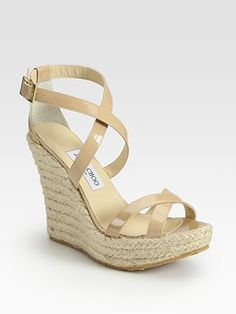 Choo nude wedge, I've been looking for these all summer!