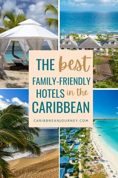 family friendly hotel Best Family Resorts, Family Friendly Resorts, Best Hotels, Friends Family, Caribbean, Good Things, Vacation, Vacations, Holidays Music