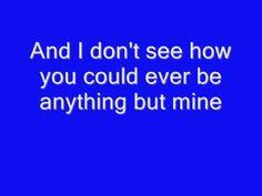 Anything But Mine (w/ lyrics)--Kenny Chesney