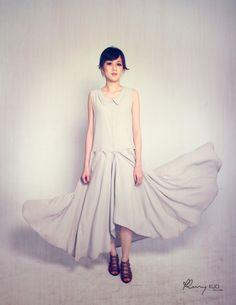 Lea Maxi Sheer Shirt Dress by oukymmik